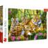 Family Of Tigers Tigers Jigsaw Puzzle