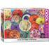 Asian Oil Paper Umbrellas Asian Art Jigsaw Puzzle