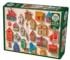 Cuckoo and Friends Pattern / Assortment Jigsaw Puzzle