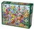 Butterfly Garden Butterflies and Insects Jigsaw Puzzle