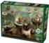 Terrarium Cat Cats Jigsaw Puzzle