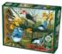 Blue Jay and Friends Birds Jigsaw Puzzle