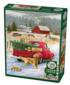 Christmas on the Farm Winter Jigsaw Puzzle