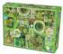 Green Everyday Objects Jigsaw Puzzle