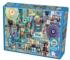 Blue Collage Jigsaw Puzzle