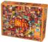 Fire Collage Jigsaw Puzzle