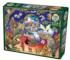 Owl Magic Birds Jigsaw Puzzle