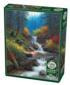 Mountain Cascade Forest Jigsaw Puzzle
