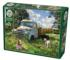Sheep Field Dogs Jigsaw Puzzle