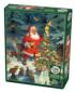 Santa's Tree Santa Jigsaw Puzzle