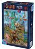 Statue of Liberty Cartoons Jigsaw Puzzle