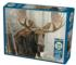 Bull Moose Wildlife Jigsaw Puzzle