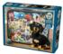 Dachshund 'Round the World Travel Jigsaw Puzzle