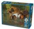 Horse Pond Horses Jigsaw Puzzle