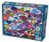 Portrait of a Quilt Everyday Objects Jigsaw Puzzle