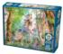 Unicorn in the Woods Birds Jigsaw Puzzle