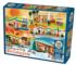 Four Seasons of Mid-Century Living Fall Jigsaw Puzzle