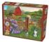 Farm Cats Animals Jigsaw Puzzle