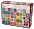Quilt Blocks Everyday Objects Jigsaw Puzzle