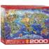 Crazy World Maps / Geography Jigsaw Puzzle