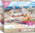 Yoga Beach Cats Jigsaw Puzzle