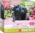 Black Labs in Pink Box Dogs Jigsaw Puzzle