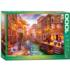 Sunset Over Venice Italy Jigsaw Puzzle