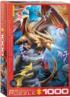 Dragon Clan Dragons Jigsaw Puzzle