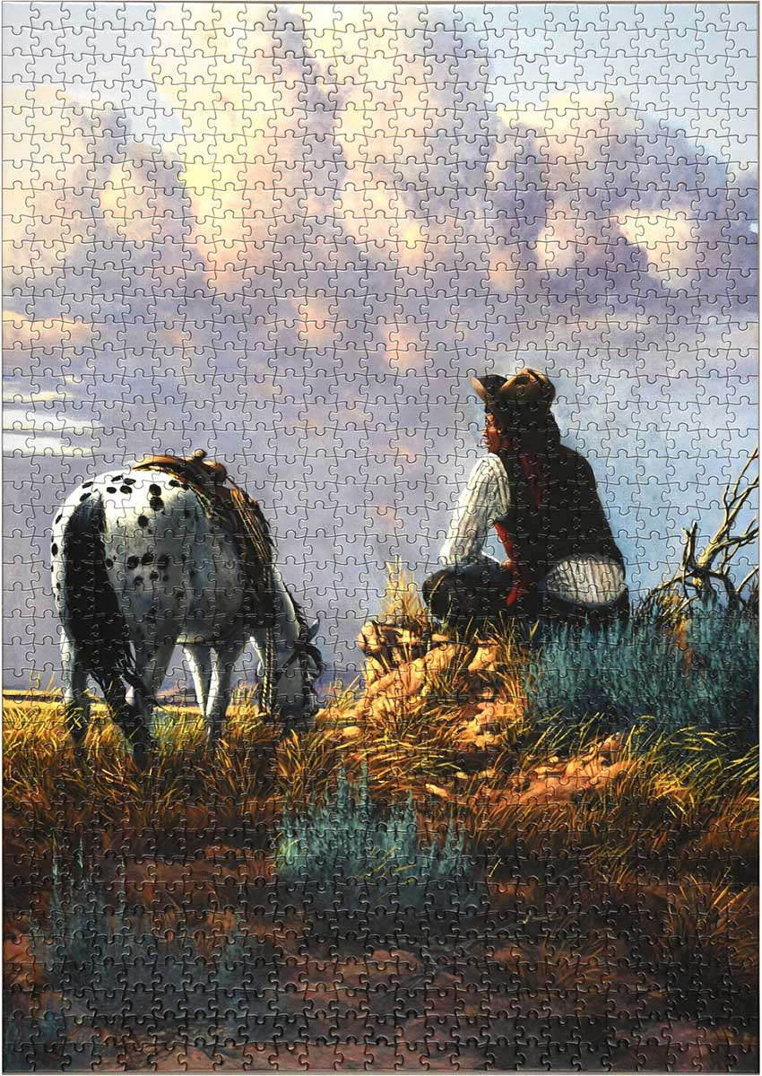 Dreamers Hour - Scratch and Dent Horses Jigsaw Puzzle