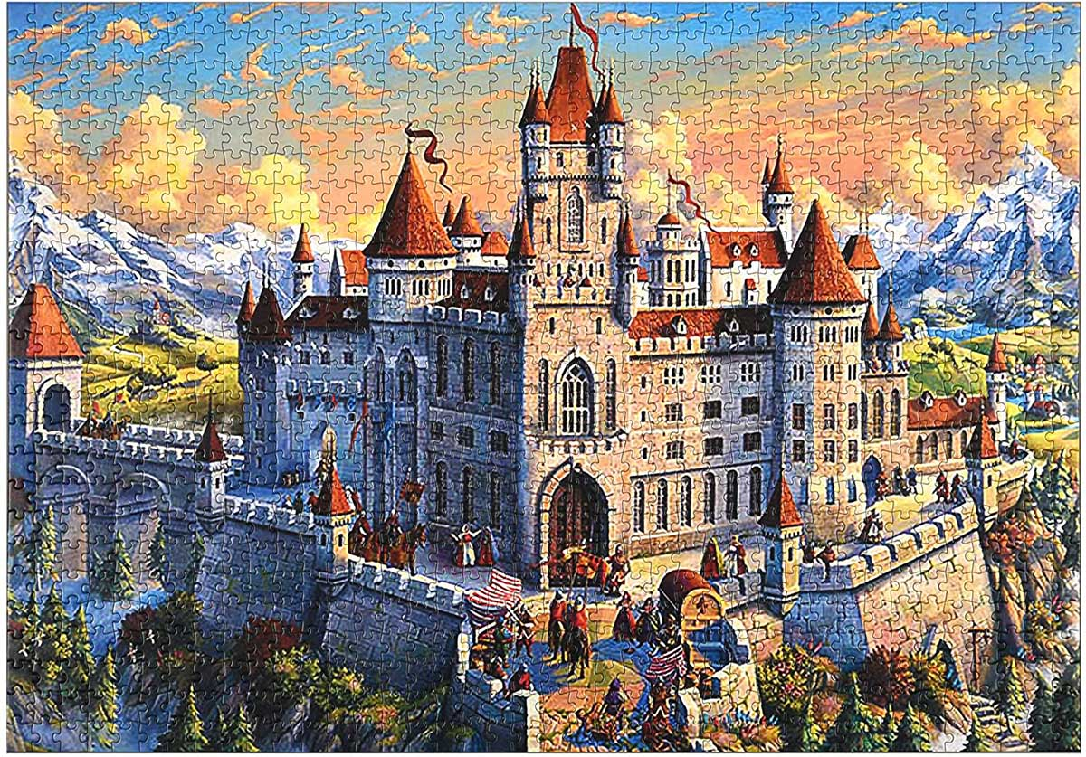 Old Castle - Scratch and Dent Castles Jigsaw Puzzle