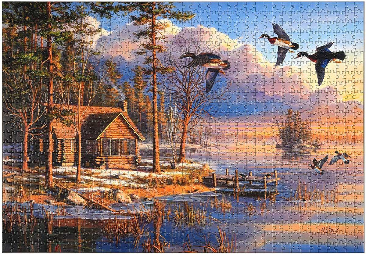 Spring Arrivals Birds Jigsaw Puzzle