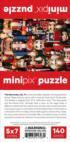 The Nutcracker MiniPix® Puzzle Christmas Jigsaw Puzzle