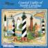 NC Coastal Lights Lighthouses Jigsaw Puzzle