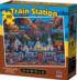 Train Station Trains Jigsaw Puzzle