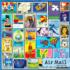 Air Mail Pattern / Assortment Jigsaw Puzzle