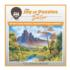 Fall:  Joy of Puzzles with Bob Ross Fall Jigsaw Puzzle
