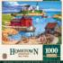 Ladium Bay Lighthouses Jigsaw Puzzle