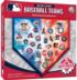 MLB Team Logos Sports Shaped Puzzle