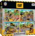 Caterpillar - 4-pack Construction Jigsaw Puzzle