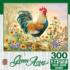 Morning Glory Chickens & Roosters Jigsaw Puzzle