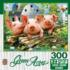 Three 'Lil Pigs Farm Animals Jigsaw Puzzle