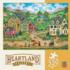 Liberty Farm Parade (Heartland Collection) Countryside Jigsaw Puzzle