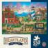The Days End (Heartland Collection) Americana & Folk Art Jigsaw Puzzle