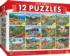12-Pack - Folk Art Bundle Americana & Folk Art Jigsaw Puzzle