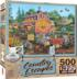 Antique Barn Shopping Jigsaw Puzzle