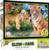 A Watchful Eye Tigers Glow in the Dark Puzzle