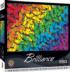 Fluttering Rainbow Butterflies and Insects Jigsaw Puzzle