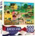 After the Chores Americana & Folk Art Jigsaw Puzzle
