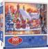 Snowman Cottage Winter Glitter / Shimmer / Foil Puzzles