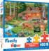 Creekside Gathering Animals Jigsaw Puzzle